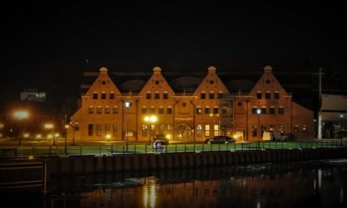 Zdjęcie POLSKA / Pomorze / Gdańsk / Gdańsk nocą
