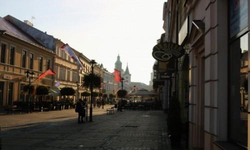 Zdjęcie POLSKA / - / Lublin / Krakowskie Przedmieście (w pewien wrześniowy poranek)