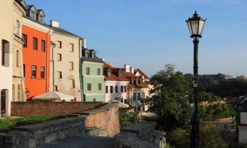 Zdjęcie POLSKA / - / Lublin / Schodkami na Podwale