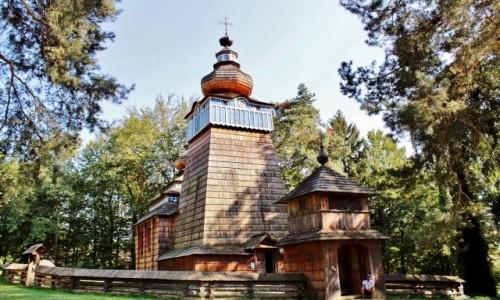 Zdjęcie POLSKA / województwo podkarpackie / Sanok / Cerkiew Narodzenia Bogurodzicy z 1801 roku