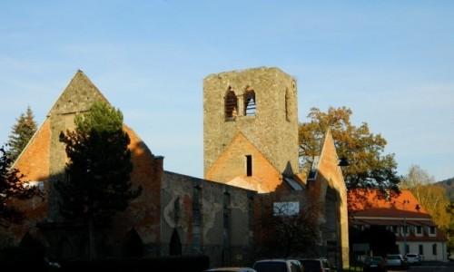 Zdjęcie POLSKA / dolnoślaskie / Lądek Zdrój / Ruina dawnego zboru ewangelickiego