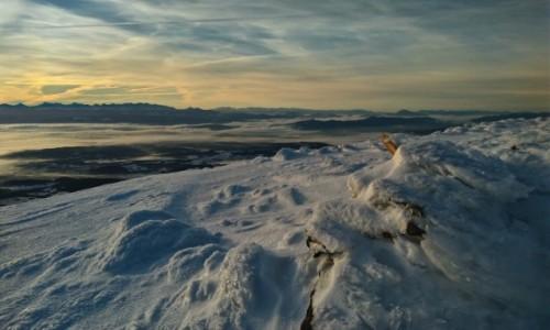 Zdjęcie POLSKA / beskid żywiecki / babia góra / widok z królowej beskidów