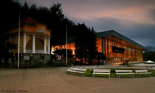 Zdjęcie POLSKA / Beskidu Niskiego / Krynica Zdrój /  Deptak i centrum Krynicy.