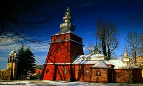 Zdjęcie POLSKA / Beskidu Niskiego / Tylicz / Cerkiew parafialna greckokatolicka