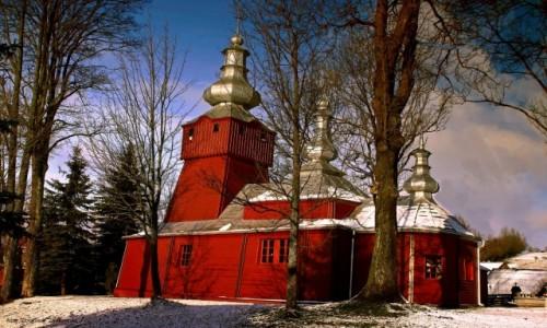 Zdjęcie POLSKA / Beskidu Niskiego / Muszynka / Cerkiew greckokatolicka