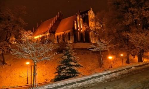 Zdjęcie POLSKA / Warminsko-Mazurskie. / Iława. / Iława - kościół Przemienienia Pańskiego