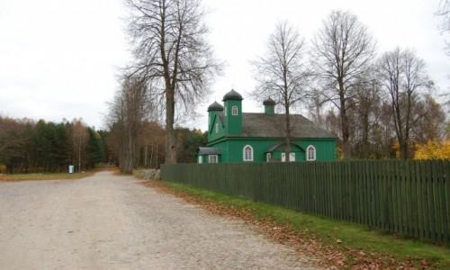 Zdjecie POLSKA / podlaskie / Kruszyniany / Kruszyniany. Drewniany meczet tatarski.
