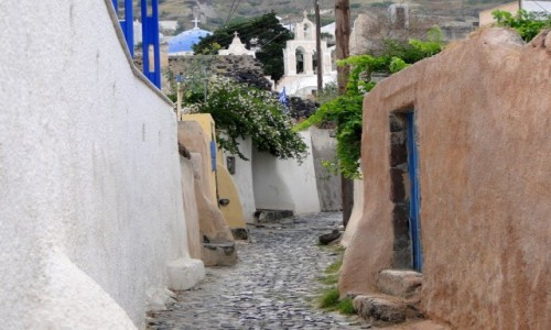 Zdjecie GRECJA / Cyklady, Santorini / Mesa Gonia / Santoryńskie klimaty.