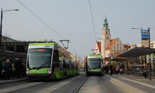 Zdjecie POLSKA / warmińsko-mazurskie / Olsztyn / Olsztyn. Po 50 latach tramwaje znów jeżdżą ulicami miasta