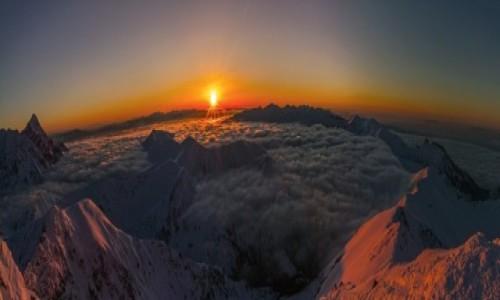 Zdjecie POLSKA / -Tatry / Swinica / Zachód słońca w Tatrach