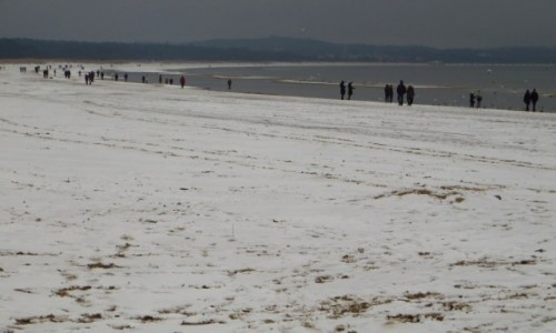 Zdjęcie POLSKA / Zachodniopomorskie / Świnoujście / zimowa plaża