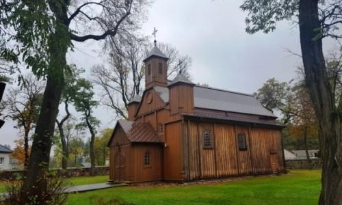 Zdjęcie POLSKA / mazowieckie / Barcice / Drewniana architektura Mazowsza