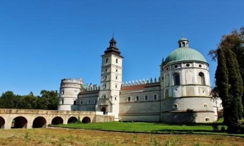 Zdjecie POLSKA / województwo podkarpackie / Krasiczyn / Zamek w Krasiczynie