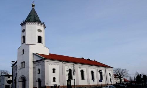 Zdjecie POLSKA / opolskie / Dobrodzień / Zabytek na środku rynku