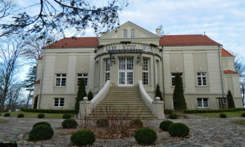 Zdjecie POLSKA / Warminsko-Mazurskie. / gmina Grunwald. / Pacółtowo - neobarokowy pałac, obecnie hotel