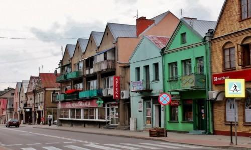 Zdjecie POLSKA / województwo podlaskie / Sokółka / Uliczka w Sokółce