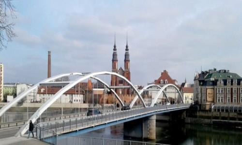 Zdjęcie POLSKA / opolskie / Opole / Widok na Przedodrze, z Zaodrza :)
