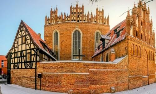Zdjecie POLSKA / Pomorze / Gdańsk / Klasztor Franciszkanów przy Toruńskiej