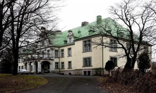 Zdjecie POLSKA / opolskie / Frączków / Pałac od frontu