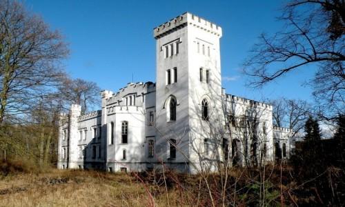 Zdjecie POLSKA / opolskie / Łączany / Pałac w stylu gotyku angielskiego