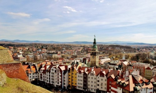 Zdjęcie POLSKA / województwo dolnośląskie / Kłodzko / Kłodzko-widok z twierdzy