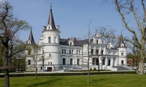 Zdjecie POLSKA / jarociński / Tarce / Fronton pałacu