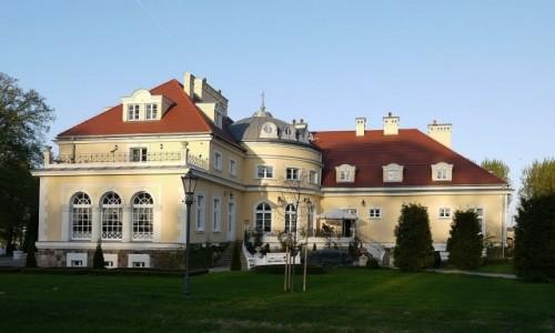 POLSKA / wielkopolskie / Bugaj / Pałac