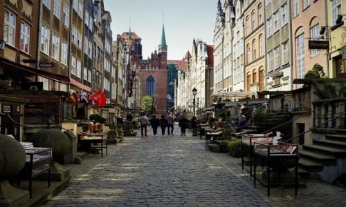 Zdjęcie POLSKA / Pomorze / Gdańsk / Ulica Mariacka
