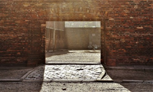 Zdjecie POLSKA / Małopolska / Oświęcim / KL Auschwitz-Birkenau blok śmierci