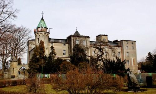 Zdjecie POLSKA / województwo dolnośląskie / Szczytna / Zamek Leśna Skała z 1837 roku