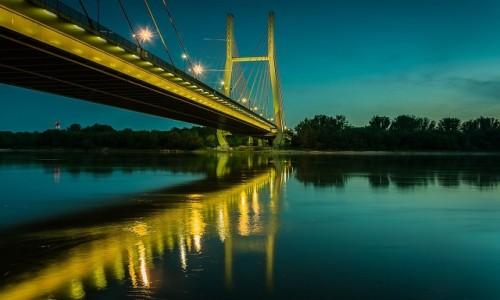 Zdjęcie POLSKA / mazowsze / Warszawa / Most Siekierkowski