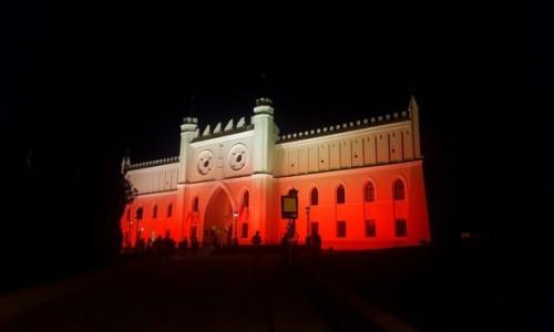 Zdjęcie POLSKA / Lubelskie / Lublin / Zamek Lubelski nocą