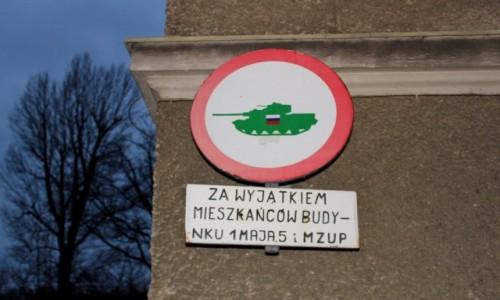 Zdjecie POLSKA / województwo dolnośląskie / Kudowa Zdrój / Zakaz ruchu w obu kierunkach
