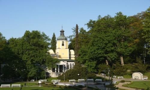 Zdjęcie POLSKA / dolnoślaskie / Lądek Zdrój / Kaplica zdrojowa