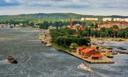 Zdjęcie POLSKA / Pomorze Zachodnie / Świnoujście / widok z latarni morskiej