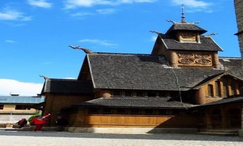 Zdjęcie POLSKA / Dolny Śląsk / Karpacz / świątynia Wang