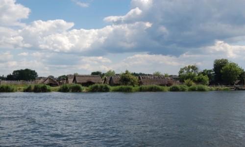 Zdjęcie POLSKA / zachodniopomorskie / Wolin / Wolińska Kępa - widok z miasta