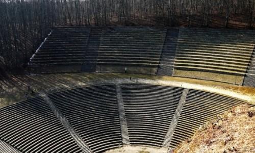 Zdjęcie POLSKA / opolskie / Góra Św. Anny / Kamienny amfiteatr