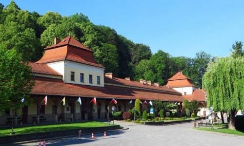 Zdjęcie POLSKA / Małopolska / Kalwaria Zebrzydowska / centrum dla pielgrzymów
