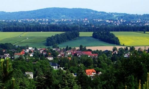 Zdjęcie POLSKA / Małopolska / Kalwaria Zebrzydowska / wzgórza