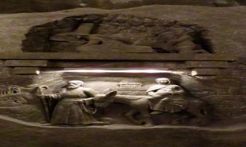Zdjęcie POLSKA / Małopolska / Wieliczka / kopalnia soli - kaplica św. Kingi