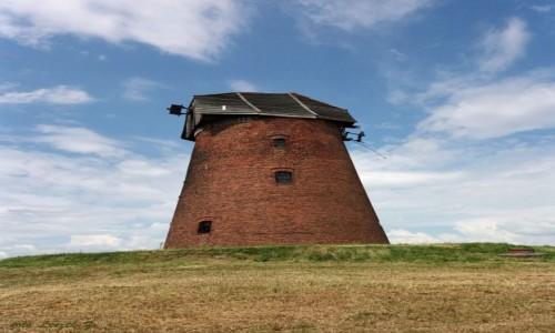 Zdjęcie POLSKA / Warminsko-Mazurskie. / pow. Biskupiec Pom. / XIX-wieczny holenderski wiatrak.