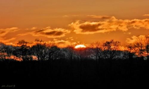 Zdjęcie POLSKA / Warminsko-Mazurskie. / IŁAWA. / Zachód słońca nad Jeziorakiem.