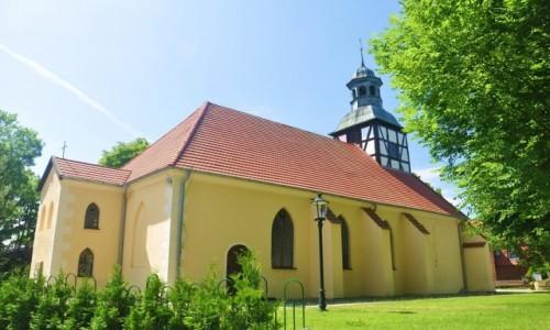 Zdjecie POLSKA / pomorskie / Łeba / Łeba, XVII-wieczny kościółek