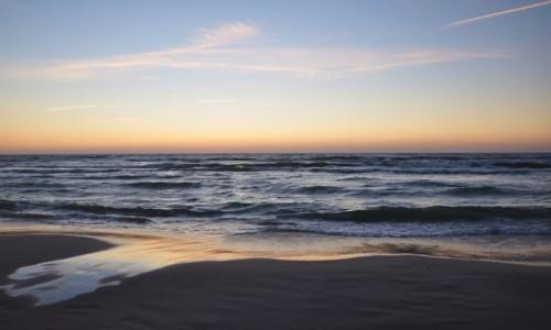 Zdjęcie POLSKA / pomorskie / Łeba / Jeszcze jedno wspomnienie z zachodu słońca, Łeba