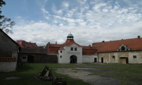 Zdjecie POLSKA / opolskie / Niemodlin / Dziedziniec za bramą
