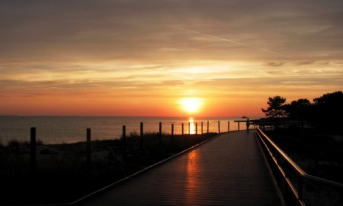 Zdjecie POLSKA / Pomorze / Hel / Zachód słońca 1