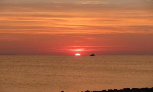 Zdjecie POLSKA / Pomorze / Hel / Zachód słońca 3