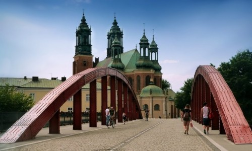 Zdjecie POLSKA / wielkopolska / Poznań / Katedra na Ostrowie Tumskim