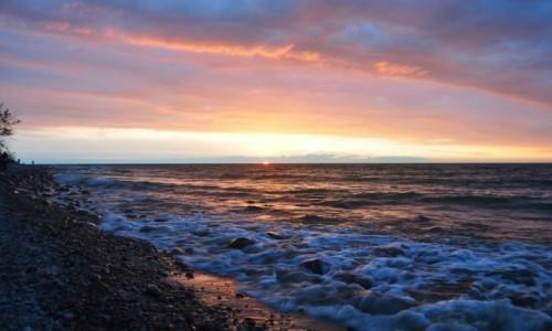 Zdjęcie POLSKA / pomorskie / Rozewie / Zachód słońca w Rozewiu, 09.07.2018